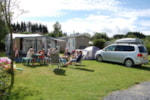 Standpladser - Luxury Camping plot 175 m² with private sanitary - Camping Hohenbusch