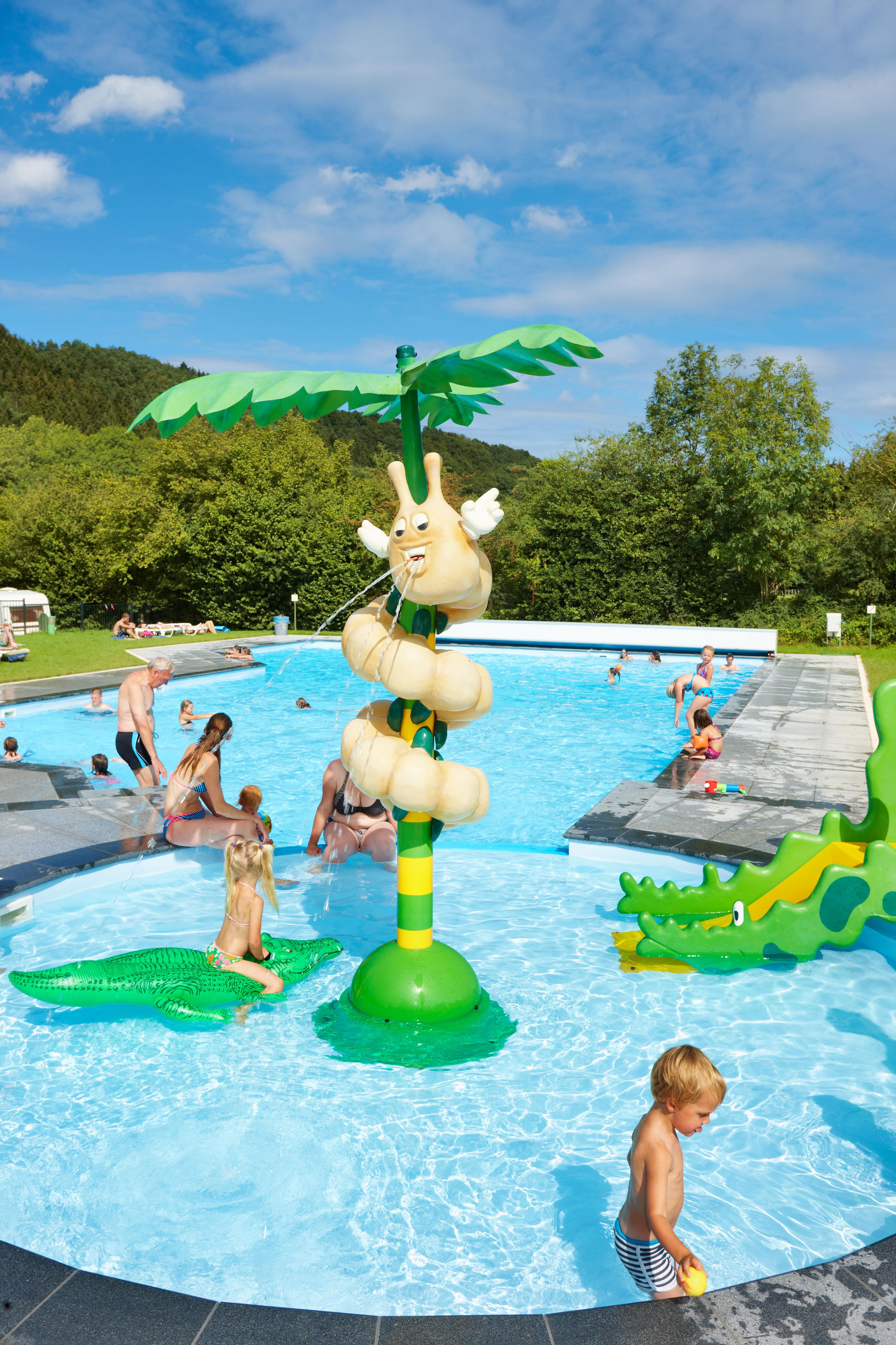 Mare, piscina Camping Spa d'Or - Sart-lez-Spa