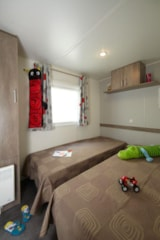 Rental - Mobile Home ALPAGE 32m² - covered terrace 15m² (3 bedrooms) - Camping Saint Disdille