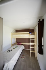 Rental - Mobile Home PRM for disabled person (-3 y.old) 35m²  - covered terrace 15m² (2 bedrooms) - Camping Saint Disdille