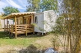 Rental - MobilHome SAVOIE 31m²  - covered terrace 15m² (2 bedrooms) - Camping Saint Disdille