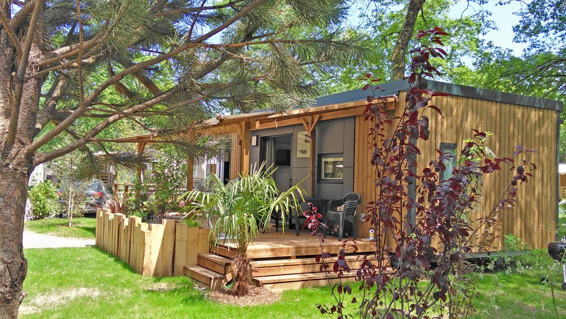 Location - Mobilhome Taos V.I.P 2Ch 35M² - Terrasse Couverte 27M² (2 Chambres) - Camping Saint-Disdille