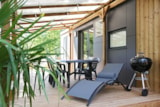 Rental - Mobilhome Taos V.I.P 2ch (NEW) 35m² - covered terrace 27m² (2 rooms) - Camping Saint Disdille