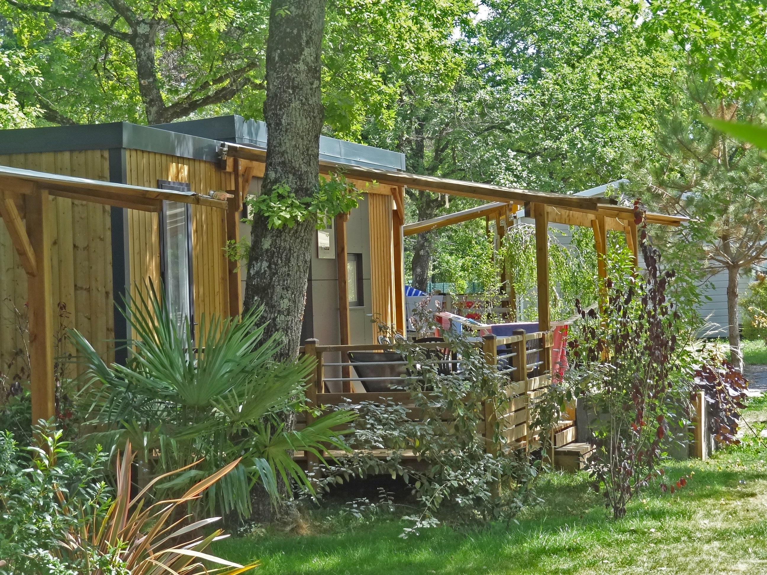 Location - Mobilhome Taos V.I.P 3Ch 38M² - Terrasse Couverte 27M² (3 Chambres) - Camping Saint-Disdille