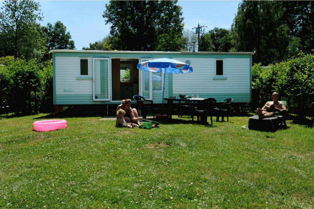 Accommodation - Basic Mobile Home Irm - Camping de Chênefleur