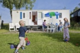 Rental - Mobile Home Fiji (4 + 1 Pers.) - Camping Ardennen - Petite Suisse