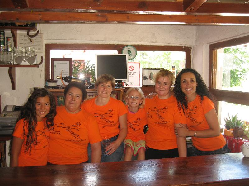 Reception team Camping Trevélez - Trevélez