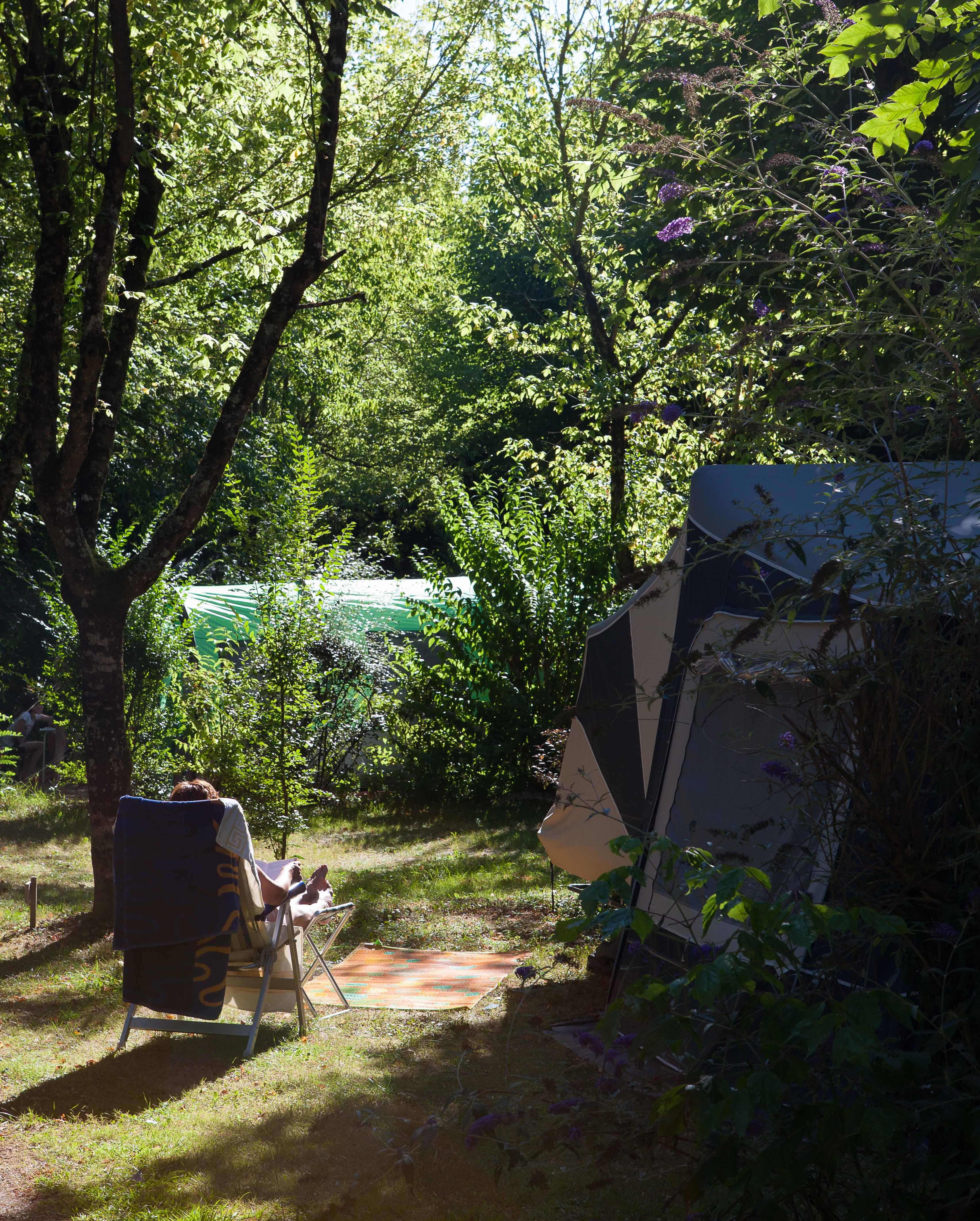 Camping l'Eau Vive, Carennac, Lot