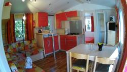 Mobil home STANDING 30m² / 2 bedrooms - sheltered terrace