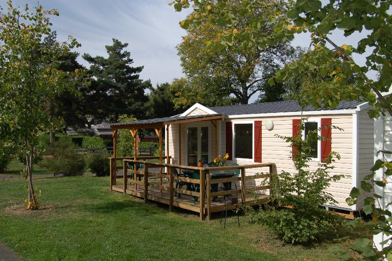 Mobil-home STANDING 30m² / 2 chambres - terrasse couverte