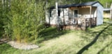 Rental - Mobile Home Confort 27 M² (2 Bedrooms) + Half-Covered Terrace - Flower Camping des Gorges de l'Aveyron