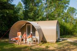 Tent Coco Menthe (Without Toilet Blocks)