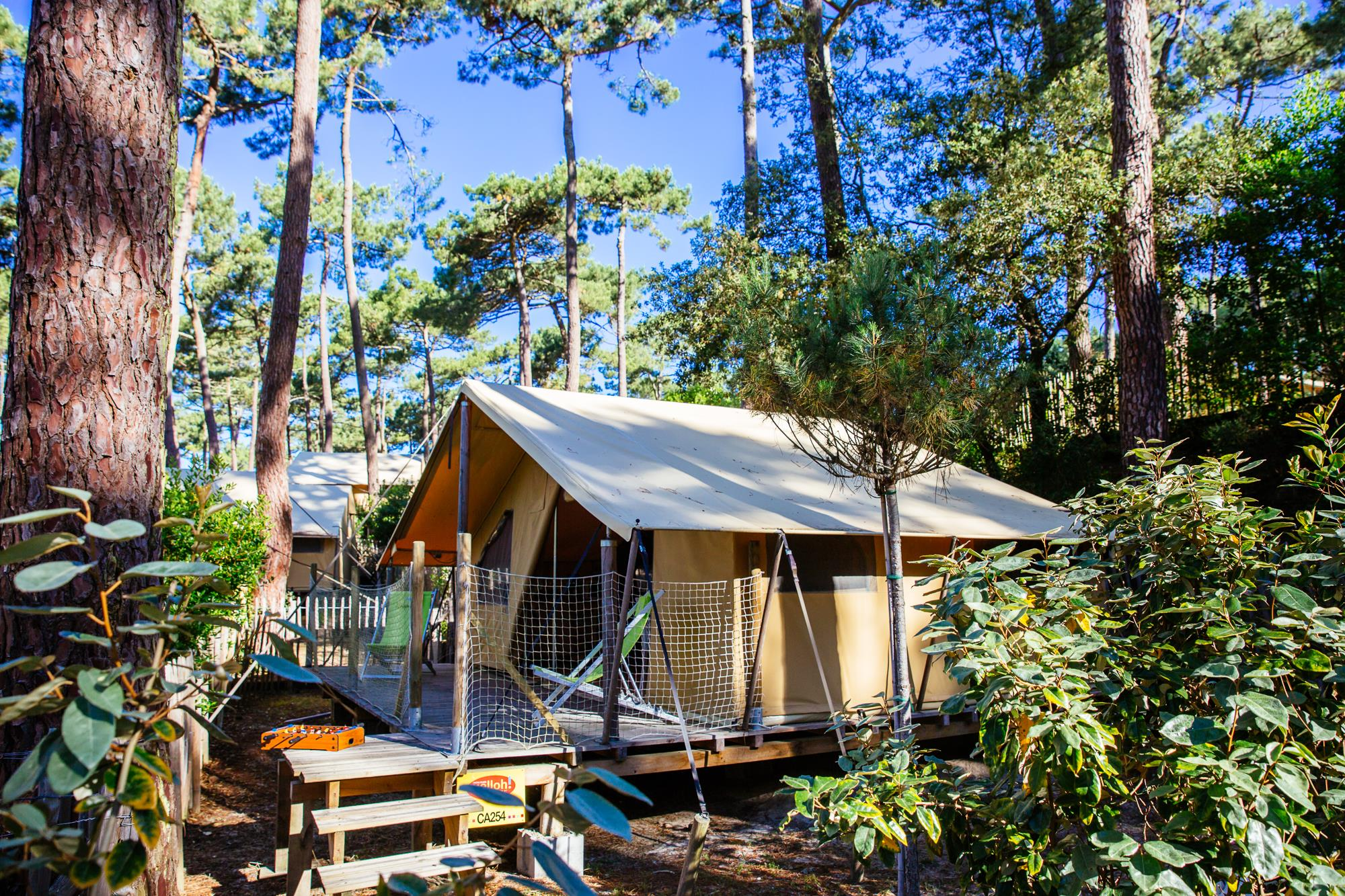 Accommodation - Tent Lodge *** (2 Bedrooms) - YELLOH! VILLAGE - LES GRANDS PINS