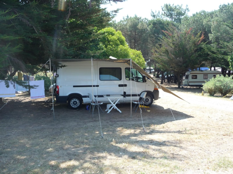 Comfort Package (1 tent, caravan/ 1 car / electricity 6A)