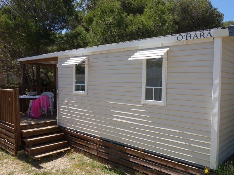 Mobil-home ~28 m² - 2 chambres