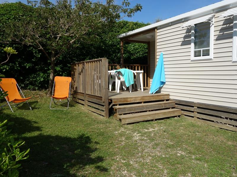 Mobil-home ~33m² - 3 chambres + climatisation