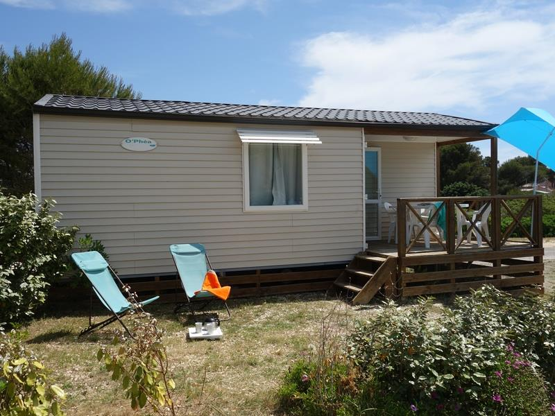 Mobil-home ~28m² 2 chambres + climatisation
