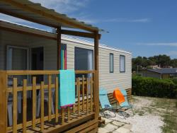 Mobile home ~31m² Seaview - 3 bedrooms + air-conditioning