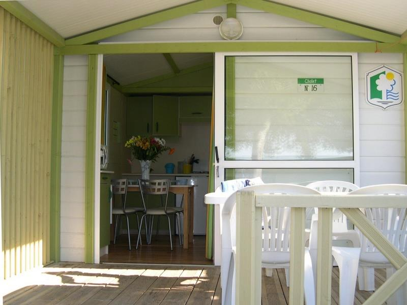 Chalet Vue mer ~19 m² - 2 chambres
