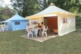 Rental - Funflower - 20 M² (2 Bedrooms) Without Private Facilities - Flower Camping les Brillas