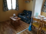 Rental - Mobilhome ECO - 22 m² (2 bedrooms) / Terrace - Flower Camping les Brillas