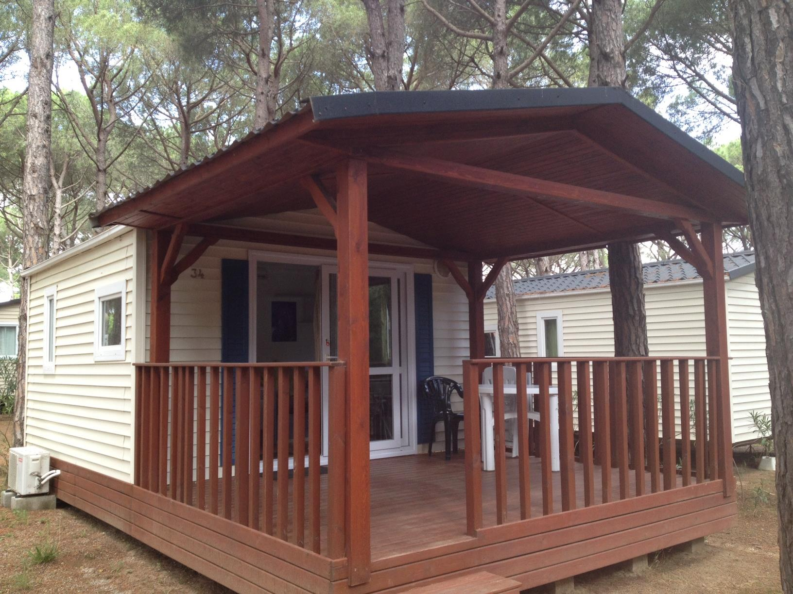 Accommodation - Mobile Home + Air-Conditioning - Camping Neptuno