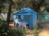 Rental - Funflower Confort 20M² (2 Bedrooms) - Without Toilet Blocks - Terrace 13,50M² - Flower Camping Le Mas de Mourgues