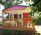 Rental - Mobile-Home Pin Parasol Confort+ 30M² (2 Bedrooms) - Sheltered Terrace 8M² - Tv - Flower Camping Le Mas de Mourgues
