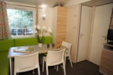 Rental - Mobile home CYPRES CONFORT+ 29m² (3 bedrooms) - sheltered terrace 16m² - TV + air-conditioning - Flower Camping Le Mas de Mourgues