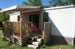 Mobile home Premium 32m² (2 bedrooms) + 2 bathrooms + Bed 160 + 2 TV + air-conditioning