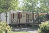 Rental - Mobile home comfort+ CLIM 32 m² (3 bedrooms - Air-conditioning) with 15 m² covered terrace - Flower CAMPING SAINT AMAND