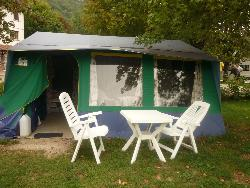 Big tent - without toilet blocks