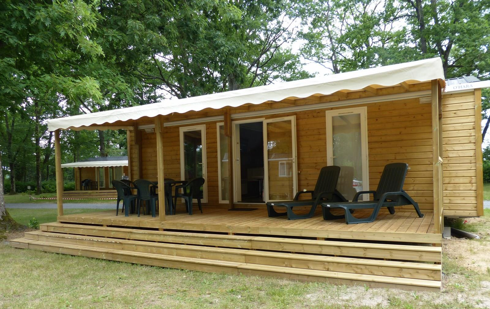 Mobilhome 2 chambres 2 S grand standing 33 m²