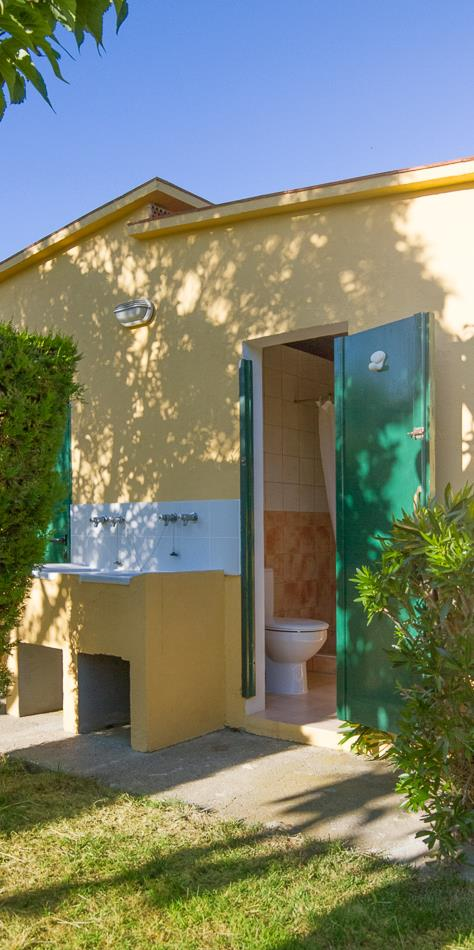 Pitch - Pitch 80 - 90M² With Individual Toilet Block - Camping L'Amfora
