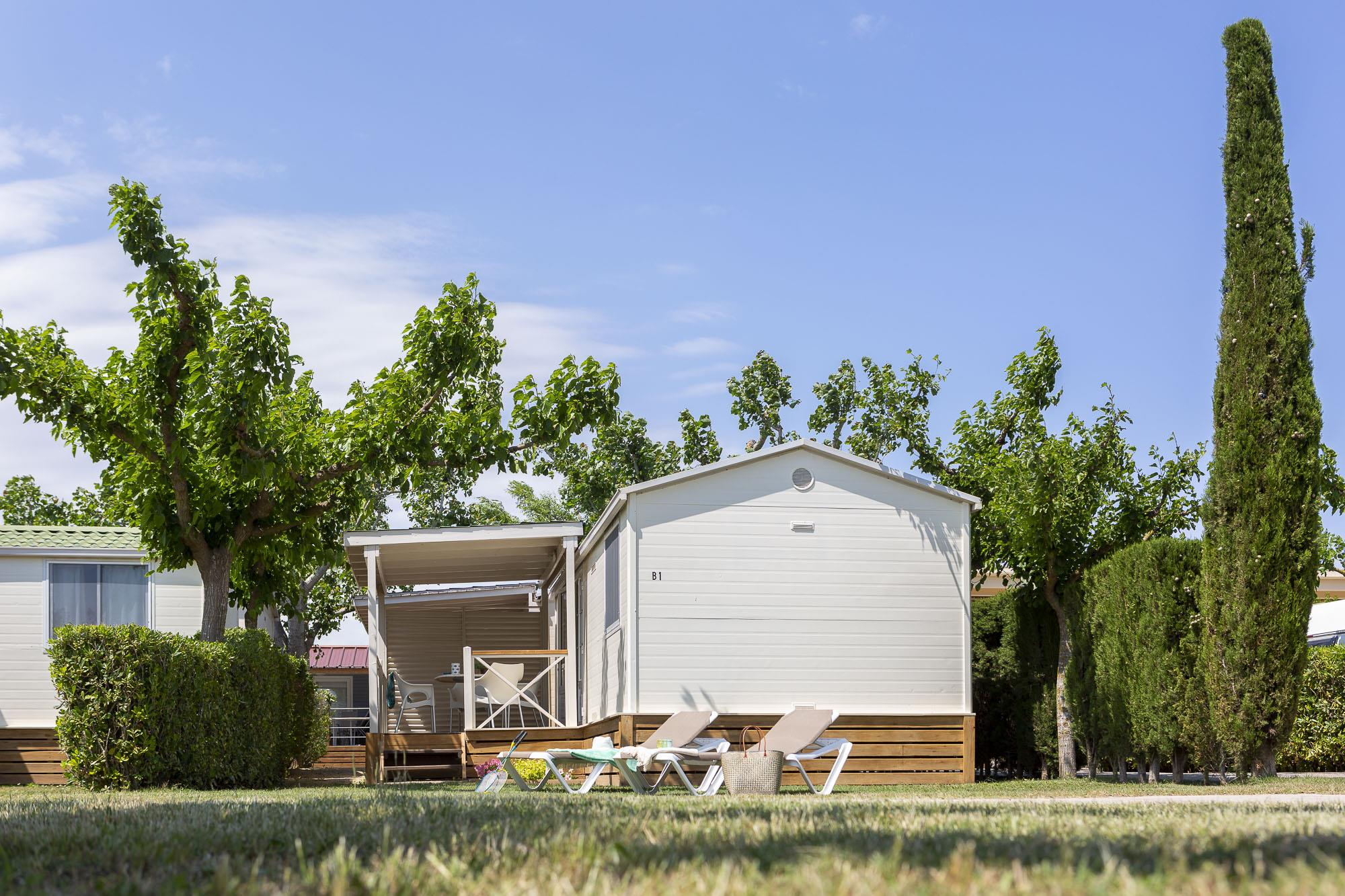 Accommodation - Mobilhome Sunny - Camping L'Amfora
