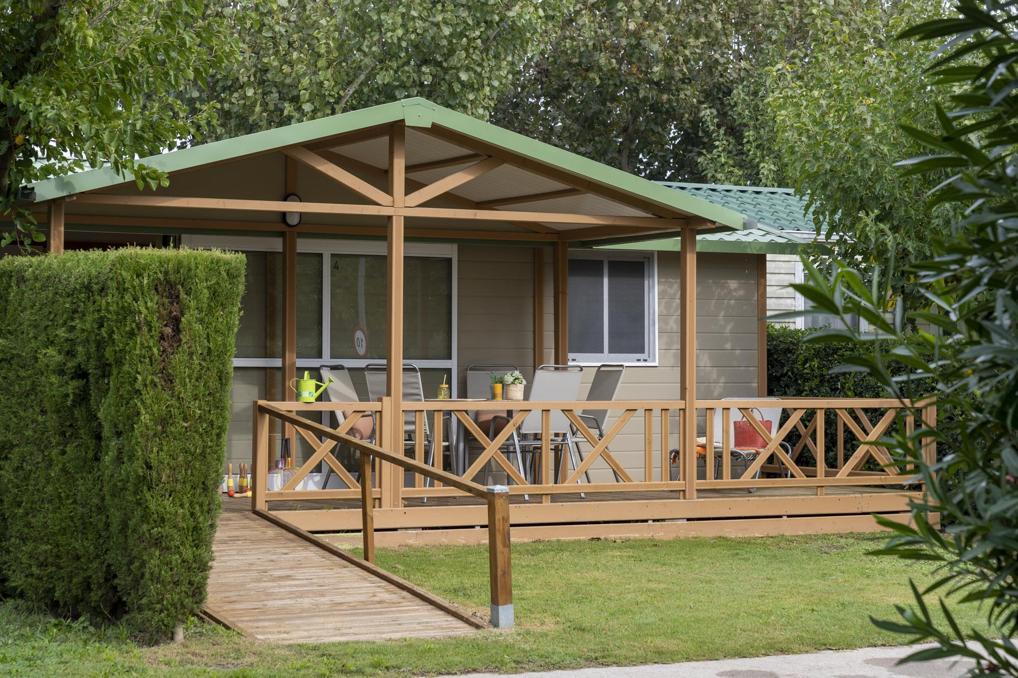 Accommodation - Bungalow Especial Club - For Disabled Persons - Camping L'Amfora