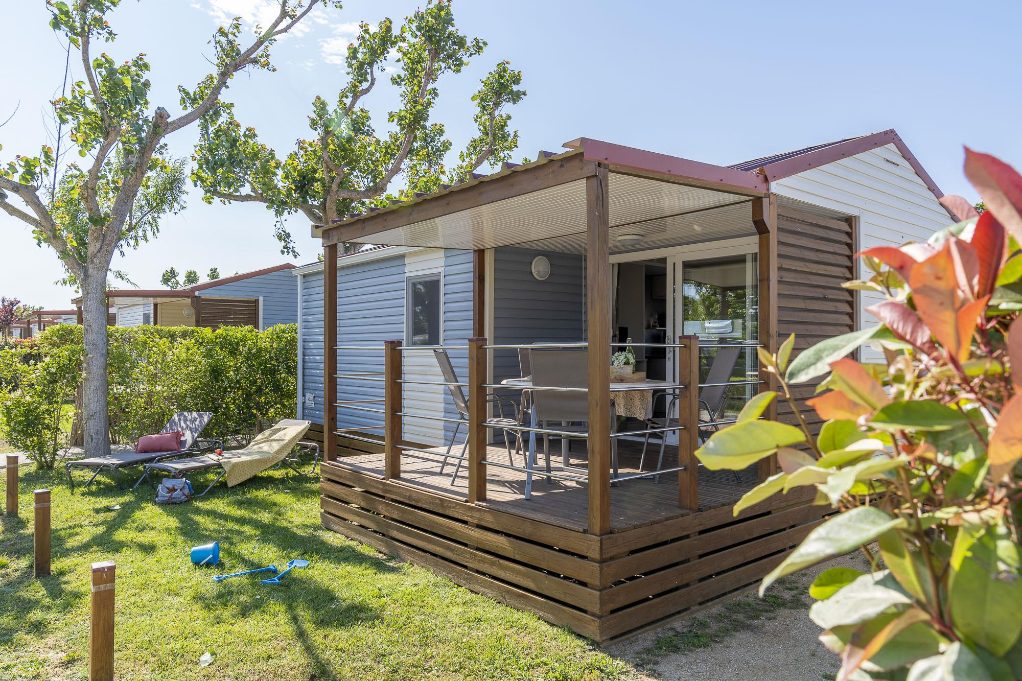 Accommodation - Mobil-Home Red - Camping L'Amfora