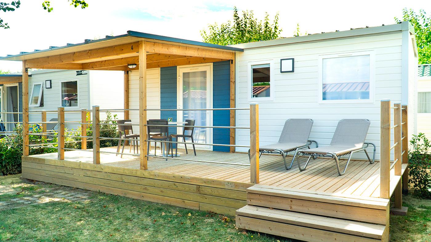 Accommodation - Mobilhome Green - Camping L'Amfora