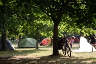 Camping Pitch - Bicycle / Boat