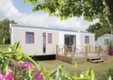 Rental - Mobilhome Sand 4 bedrooms 8 people - Camping du Jard