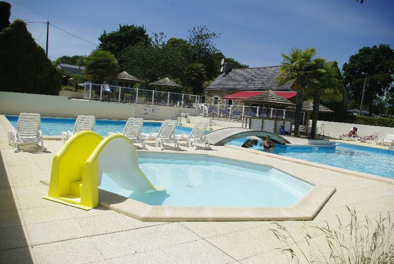 Mare, piscina Camping Kerscolper - FOUESNANT