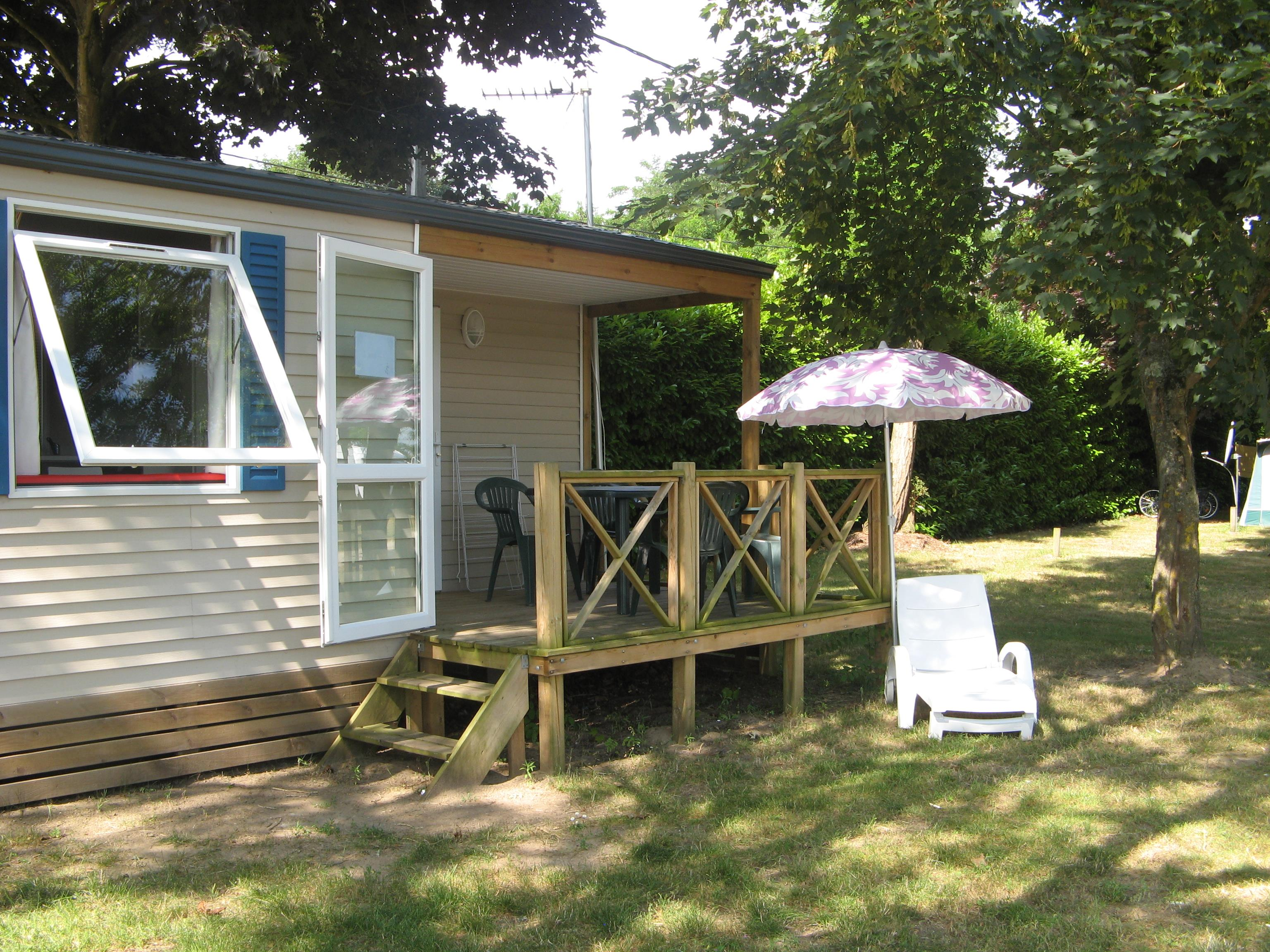Mobile home  O' HARA 28 m² / 2 bedrooms - Terrasse