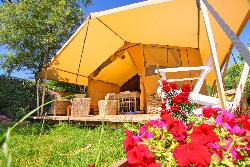 Bungalow tenda Cotton Lodge Nature (2 camere) senza sanitari