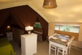 Rental - Canvas bungalow Cotton Lodge Nature (2 bedrooms) without toilet blocks - Camping Sites et Paysages LE MOULIN DE SAINTE ANNE