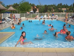 Sport activities Camping Sites et Paysages LE MOULIN DE SAINTE ANNE - Villegly en Minervois