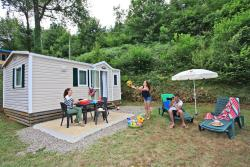 Rental - Mobil home - 2 bedrooms - 1 bathroom - Fenelon (Saturday) - Castel Le Moulin du Roch