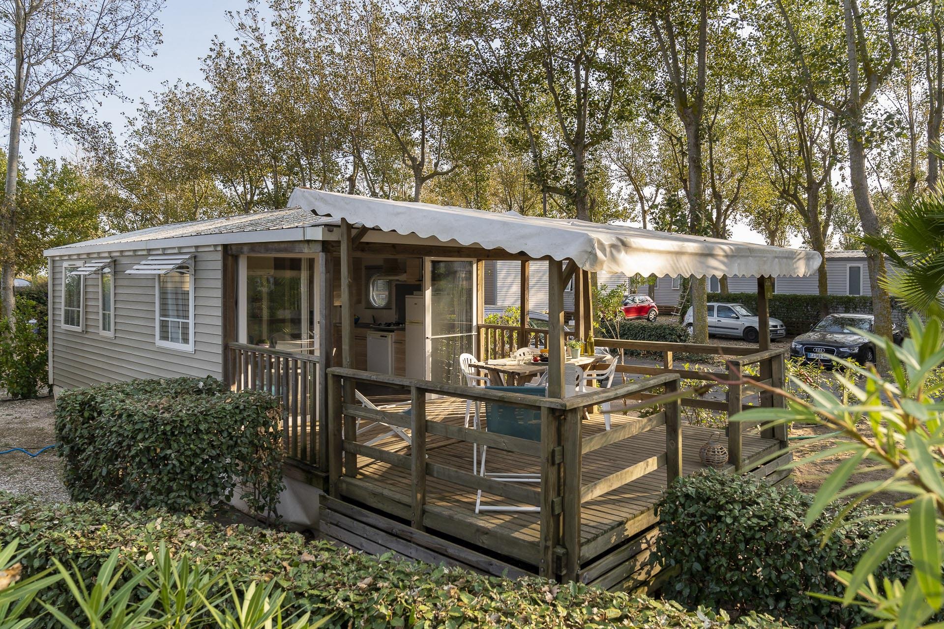 Location - Cottage 2 Chambres Climatisé**** - Camping Sandaya Blue Bayou