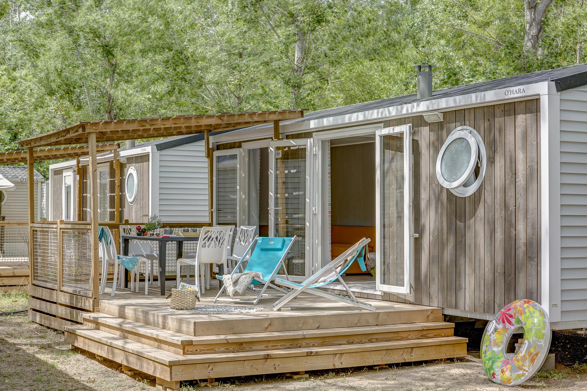 Location - Cottage 2 Chambres Climatisé*** - Camping Sandaya Blue Bayou