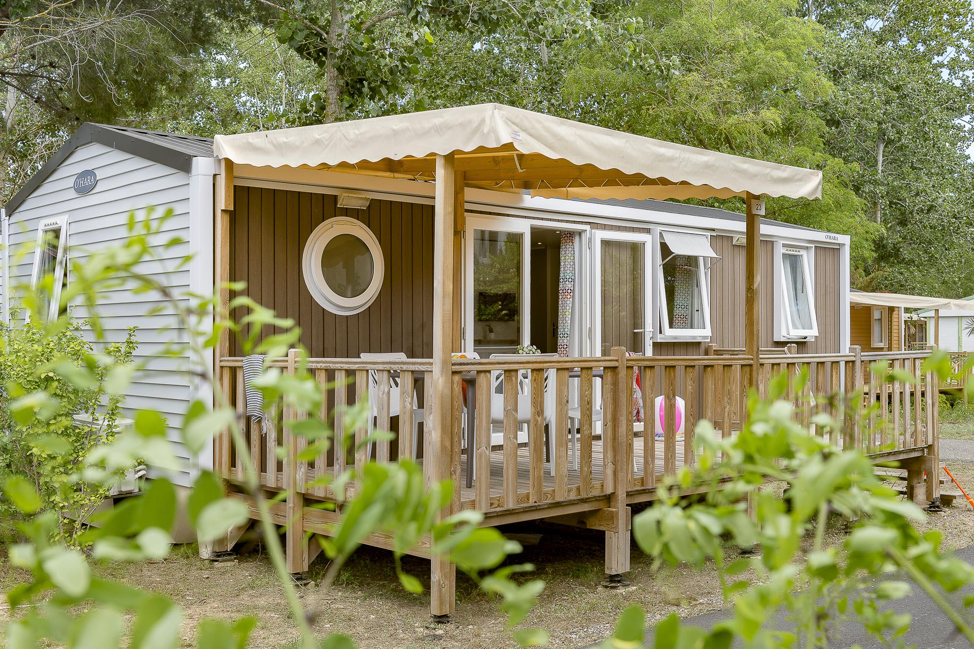Location - Cottage 3 Chambres Climatisé *** - Camping Sandaya Blue Bayou