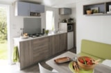 Rental - Mobile-home Confort 2 bedrooms - Camping Club Le Marisol